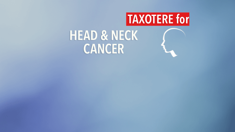 Addition of Taxotere® Improves Survival in Head and Neck Cancer