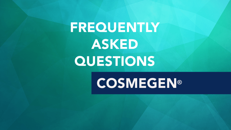 Frequently Asked Questions About Cosmegen (actinomycin-D)