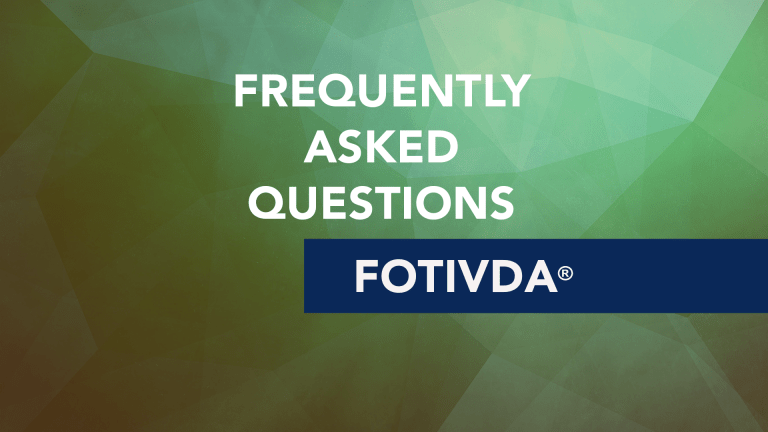 Frequently Asked Questions About Fotivda® (Tivozanib)