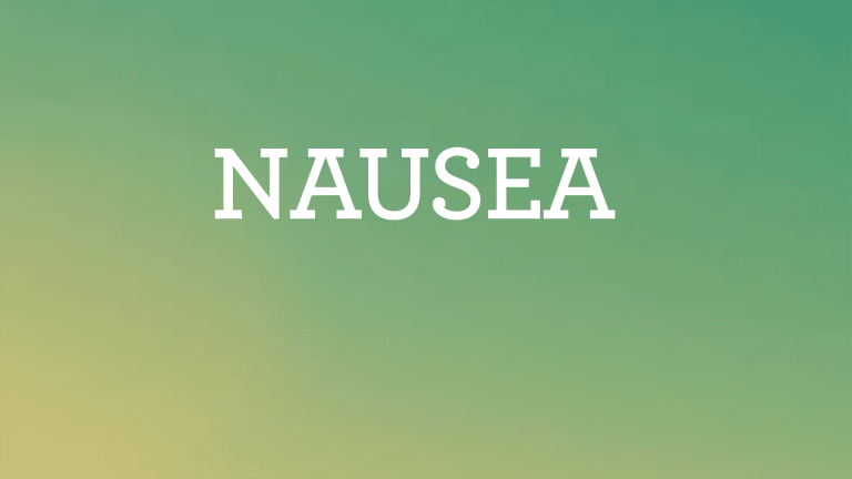 Nausea and Vomiting A Common Side Effect of Cancer Treatment