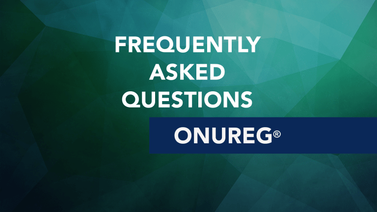 Frequently Asked Questions About Onureg® (Azacitidine)