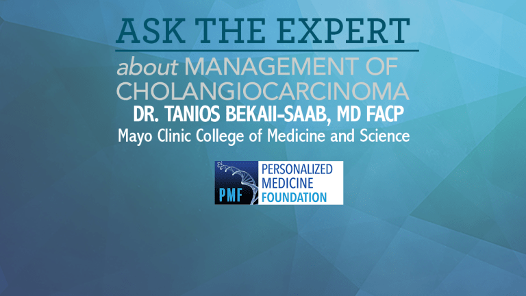 Ask The Expert About The Management of Liver Cancer