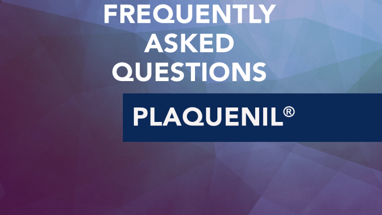 Frequently Asked Questions About Plaquenil® (hydroxychloroquine)